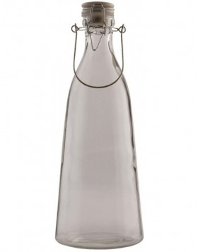 6GL0068M - decoration bottle 11x32 cm