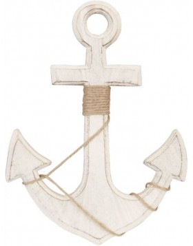 6H0763MN Clayre Eef - ANCHOR wall decoration natural
