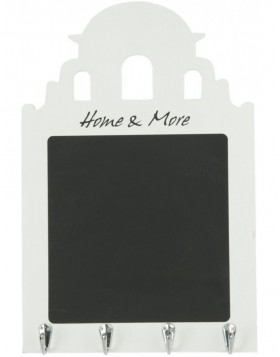6H0833 Clayre Eef - HOME & MORE blackboard white/black