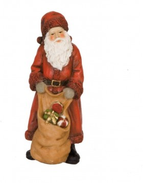 6PR0595 Clayre Eef - decoration Father Christmas