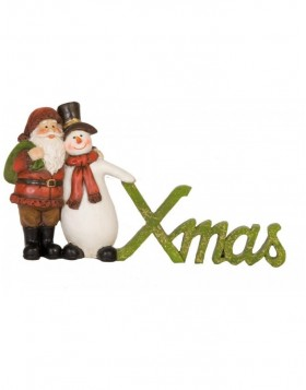6PR0602 Clayre Eef - Christmas decoration Snowman