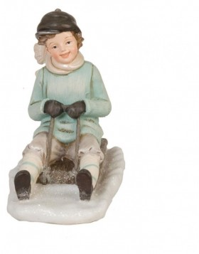 6PR0617 Clayre Eef - Christmas decoration CHILDREN