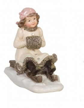 6PR0618 Clayre Eef - Christmas decoration CHILDREN