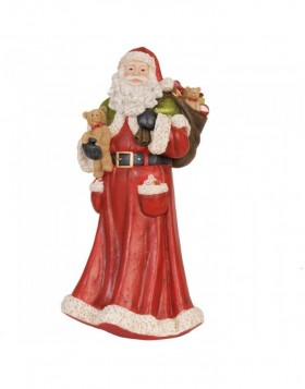 6PR0620 Clayre Eef - decoration Father Christmas