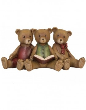 6PR0627 Clayre Eef - TEDDIES decoration