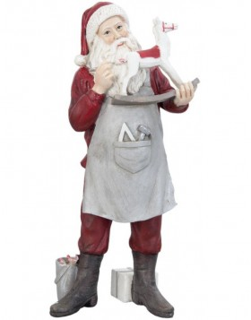6PR0636 Clayre Eef - christmas decoration Father Christmas