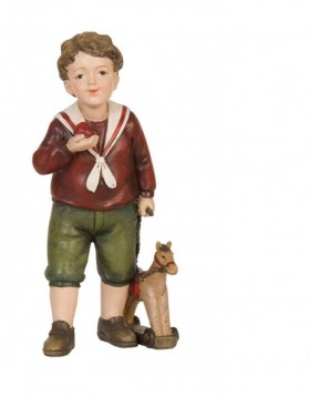 6PR0640 Clayre Eef - decoration LITTLE BOY