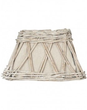 6RO0250 Clayre Eef lamp shade light brown