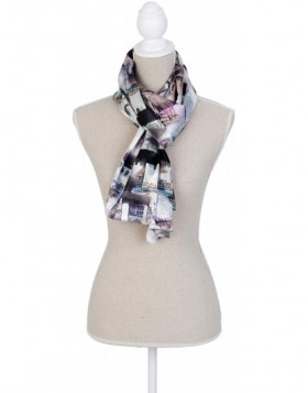 70x170 cm synthetic scarf SJ0561 Clayre Eef