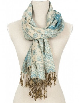 70x180 cm synthetic scarf SJ0465BL Clayre Eef