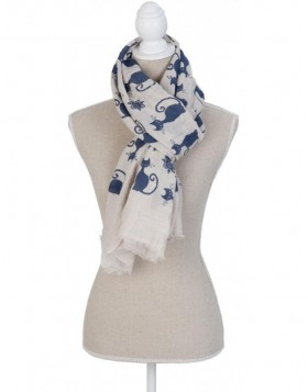 90x180 cm synthetic scarf SJ0569N Clayre Eef