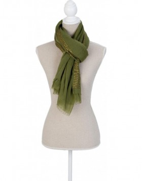 90x180 cm synthetic scarf SJ0599GR Clayre Eef