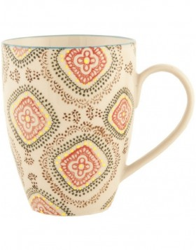 9x11 cm ceramic cup Colourful Patterns