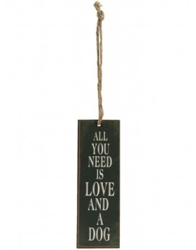 ALL YOU NEED Deko-Anh�nger 5x15 cm