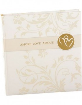 AMORE LOVE AMOUR wedding photo album