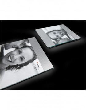 AVA photo frame black and silver 10x15cm, 13x18cm and...