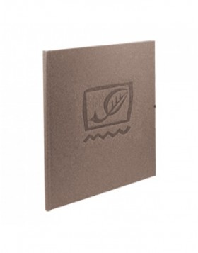address book Terra grey