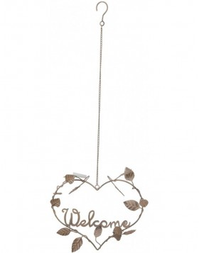 Anh�nger 6Y1381 Welcome 30x10x79 cm