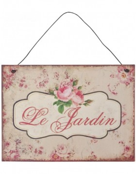 Anh�ngung 12x25 cm Le Jardin
