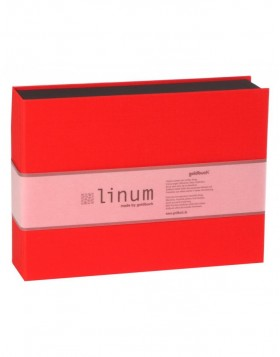 Red photo box Linum