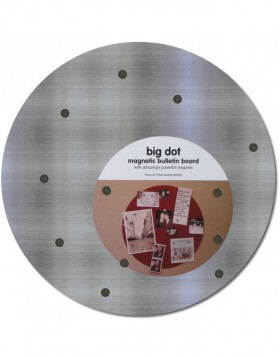 Round Big Dot stainless steel magnetic board 12´in...