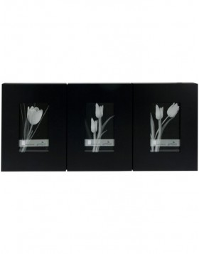 BLACK MAGIC gallery frame 3 photos 10x15 cm