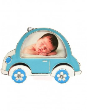 baby photo frame BELICE 8x5 cm light-blue