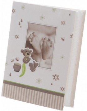 Baby Mini Album Honigb�r 32 photos 10x15 cm