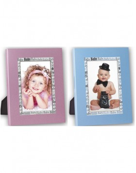 baby photo frame JERRY BLUE 10x15 cm