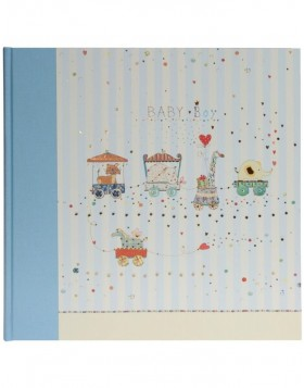 Babyalbum ANIMAL TRAIN II blau 30x31 cm