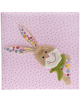 Baby photo album Bungee Bunny (Sigikid) in pink