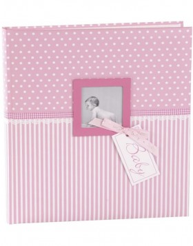 Baby Album Sweetheart pink