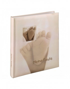 Baby Feel Baptism Bookb. Album, 29x32 cm, 60 white pages,...