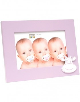 Baby frame S66RK4 cow pink 10x15 cm