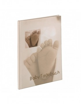 Baby Feel Baby Diary, 20.5x28 cm, 44 illustrated pages