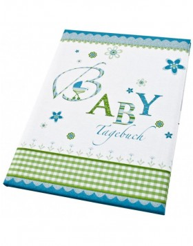 Babytagebuch Lovely in blau