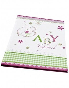 Baby diary lovely in pink
