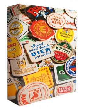 Ringbinder for Beer Coaster Collection