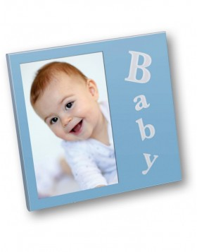 Bimbo Baby photo frame 10x15 cm blue