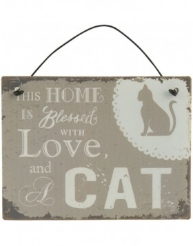 CATS II tin-plate natural/shabby - 6Y1584 Clayre Eef