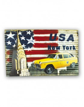 tin-plate sign CHRYSLER 60x44 cm