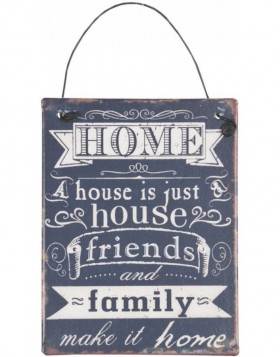 tin-plate FAMILY black - 6Y1327 Clayre Eef