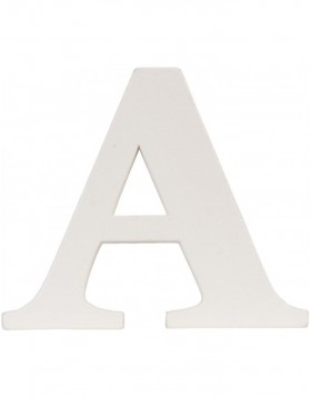letter A 9x8 cm MDF