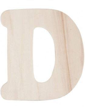 letter A to Z - 11 cm made of wood