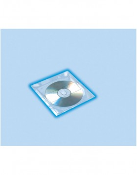 CD/DVD-H�llen, 129 x 130 mm 10 H�llen