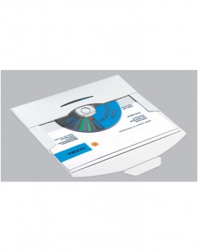 CD-PostPack mailing envelope with insert tab closure 10 pcs