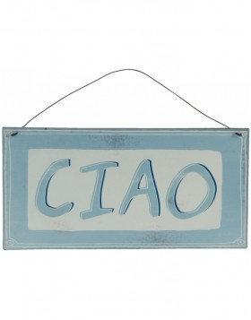 CIAO tin-plate colourful - 6Y1579 Clayre Eef