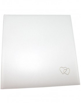 CLASSIC marriage photo album in white color