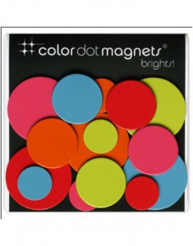 Magnets Color Dot  15 pieces