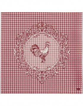 Chicken Family Papierservietten 33x33 rot
